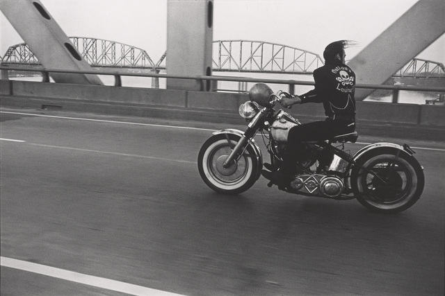 , 'Crossing the Ohio River, Louisville,' 1966, de Young Museum