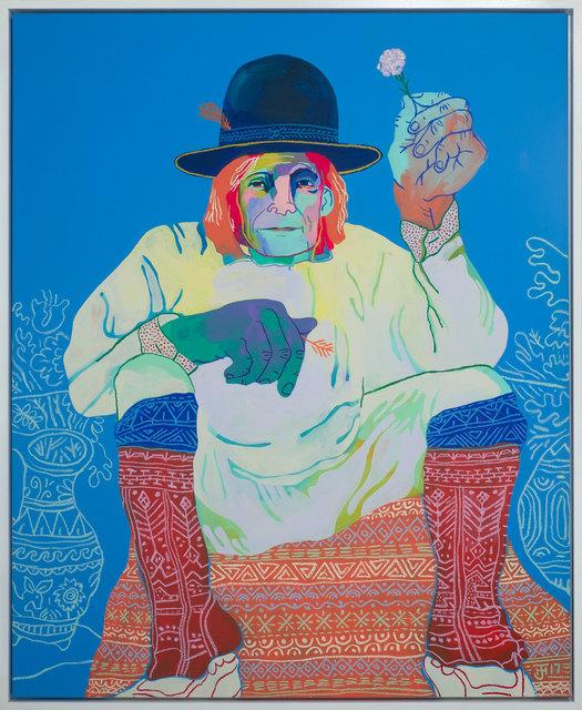 , 'Pueblo Elder 1900,' 2017, Rebecca Hossack Art Gallery