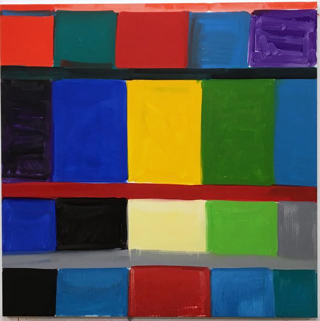 , 'Yelling Blue ,' 2017, Galerie Nordenhake