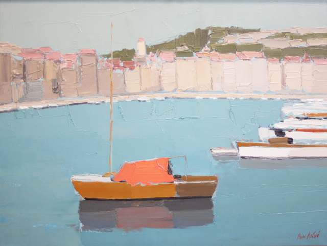 Pierre Palue, 'Boat Harbor', 1950-1965, EastCoastArt