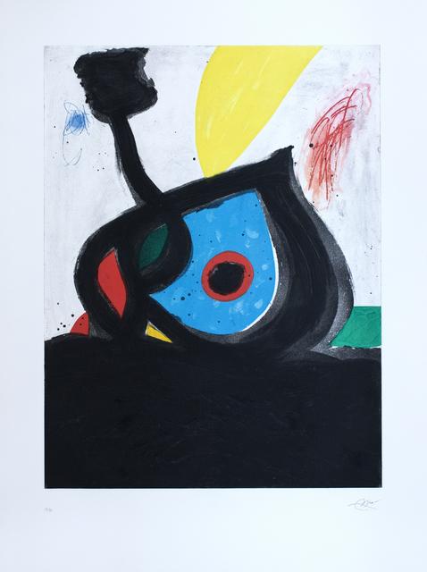 , ' L'Oeil bleu du volcan (1238),' 1981, Galerie Ernst Hilger