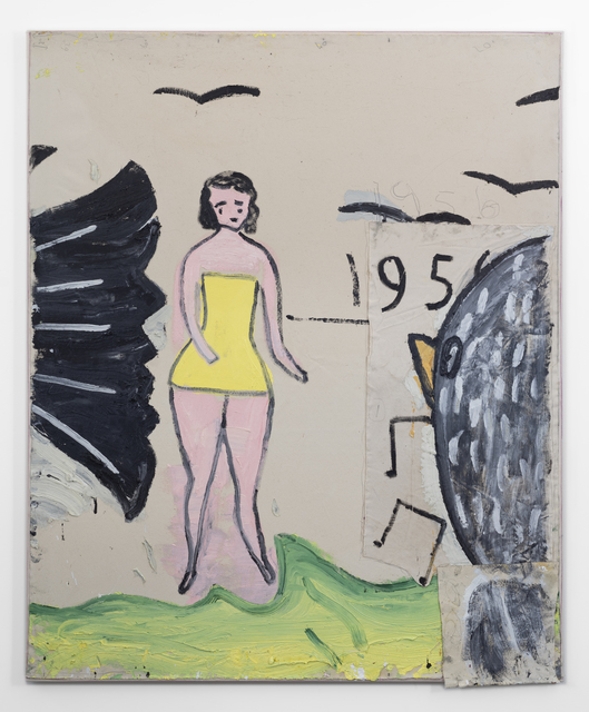 , 'Yellow Bathing Costume, and 6 Birds,' 2019, CHOI&LAGER