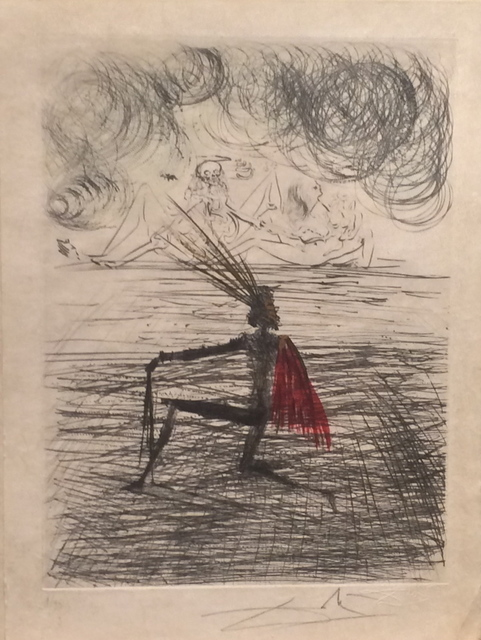 Salvador Dalí, 'Faust Chevalier a Genou', 1969, Fine Art Acquisitions