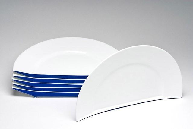 Arman (1928-2005), 'Demie Assiette (Blue)', 1990, Taglialatella Galleries