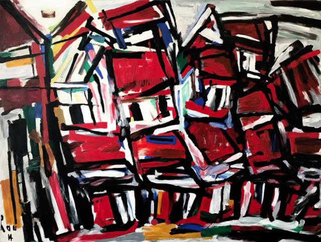 Tran Luu Hau, 'Hanoi Street ', 2014, Artist's Proof