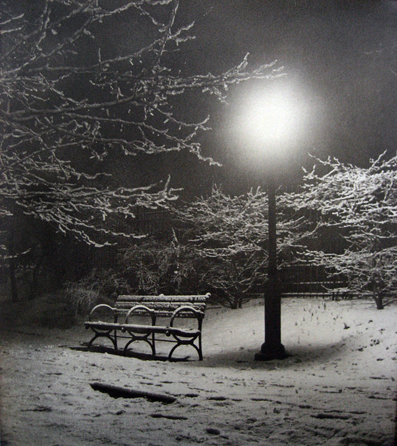 , 'Central Park (Bench in Snow),' 1933, PDNB Gallery