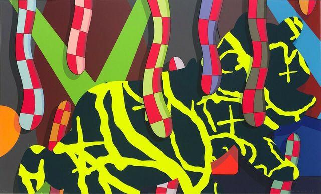 KAWS, 'Far, far down', 2018, Kunzt Gallery