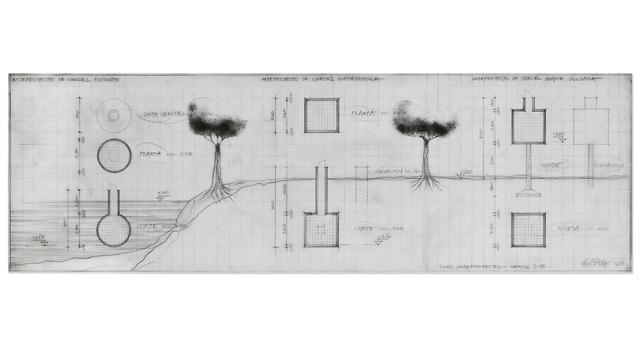 , 'Tres Anteproyectos Serie I-B,' 1974, Henrique Faria Fine Art