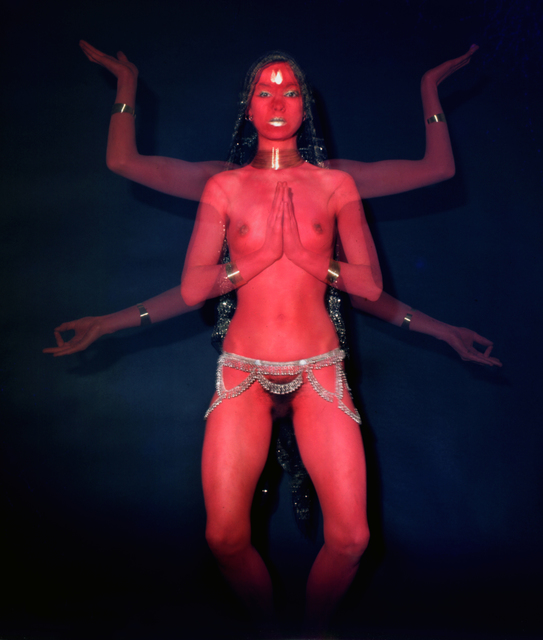 Penny Slinger, 'Penny as Red Dakini', 1977, Richard Saltoun