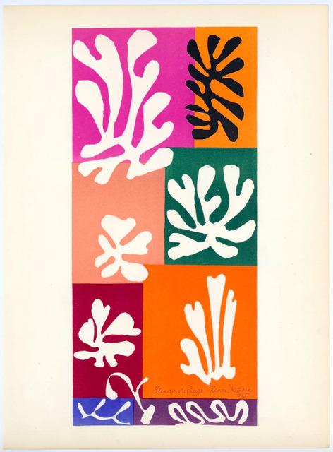 Henri Matisse, 'Fleurs de neige', 1958, Dellasposa