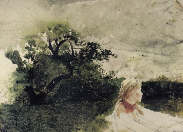 Andrew Wyeth, 'In the Orchard,' 1972, Adelson Galleries
