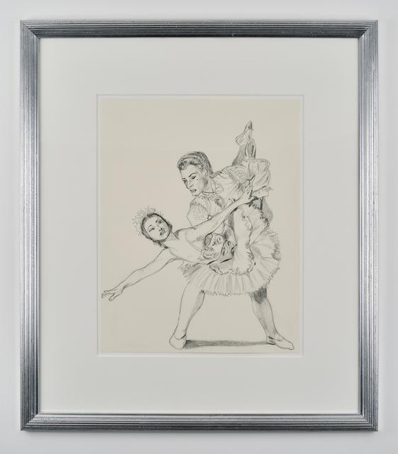 , 'A Ballet pair,' 2014, Galerie Mitterrand