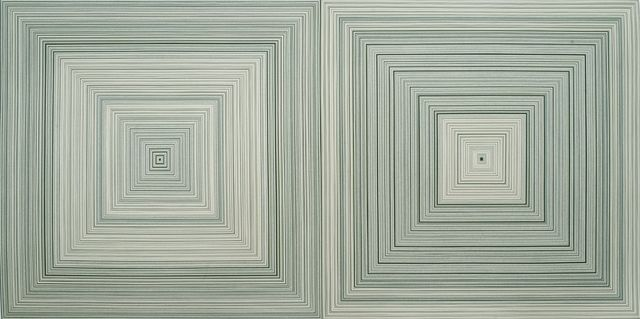 , 'Green Square No. 113,' 2008, Timothy Yarger Fine Art