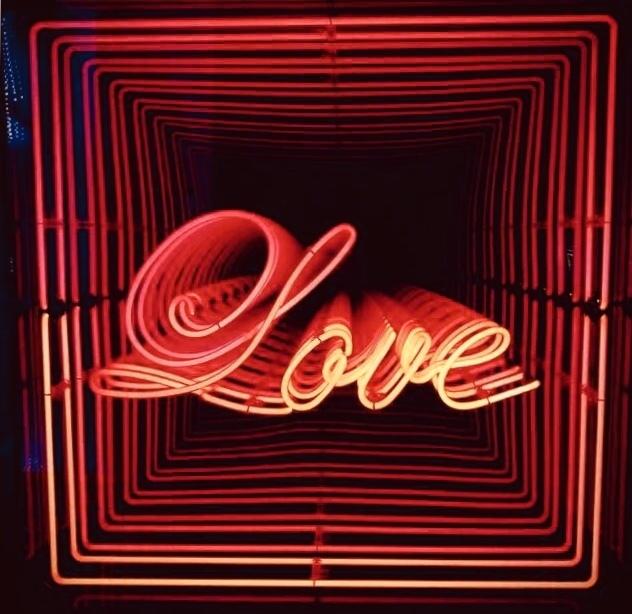 Emmanuelle Rybojad, 'Love', 2018, Installation, LED mirror, Gloria Gallery