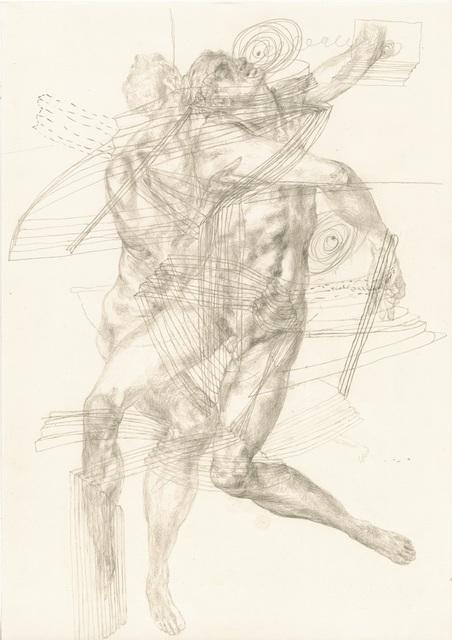 Piotr Nathan, 'e se fosse possible, guardei per tutta la vita i disegni di Pontormo', 2012, Installation, Drawing, Brutto Gusto