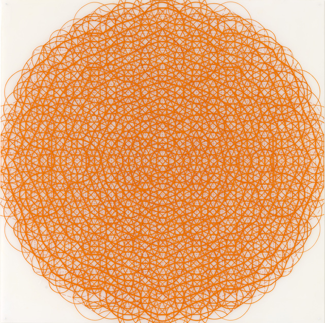 , 'Orange Sphere,' 2014, Cecilia Hillström Gallery