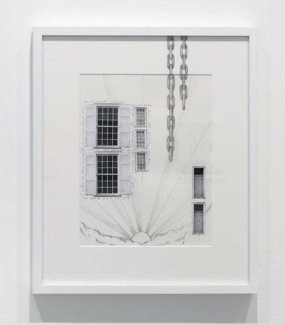 , 'Windows, Chains & Doors,' 2017, Inman Gallery