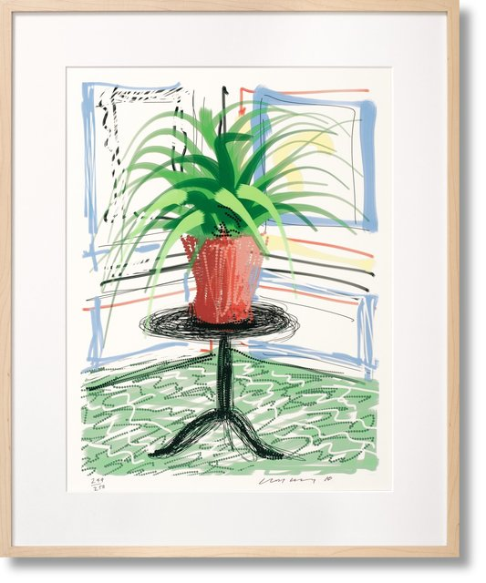 , 'David Hockney ipad Flower Drawing Series. Art 'Edition C ' Collector's Edition (Taschen Sumo),' 2010, Mr & Mrs Clark's