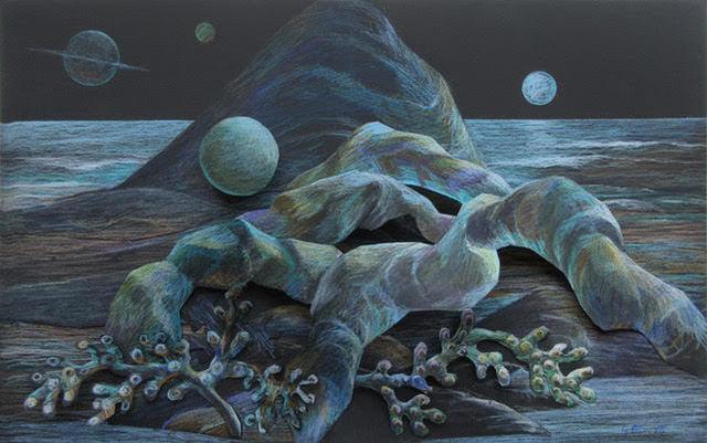 , 'Seaweed Rocks,' 2018, Ro2 Art