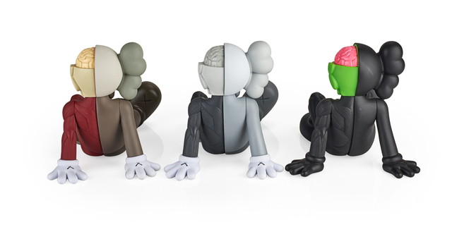 KAWS, 'Three Resting Place Companions (black, red, and grey)', 2012/2013, Rago/Wright