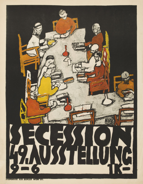 , 'Poster for the 49th Secession Exhibition,' 1918, Galerie St. Etienne