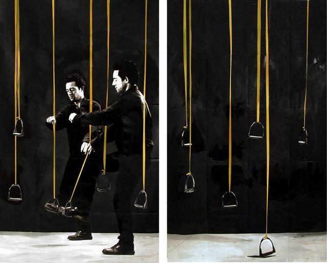 , 'Estribos,' 2002, Alarcón Criado