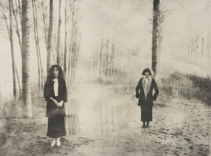 , 'Women in the Woods: Ella and Isabella, VOGUE Italia,' 1978, Staley-Wise Gallery