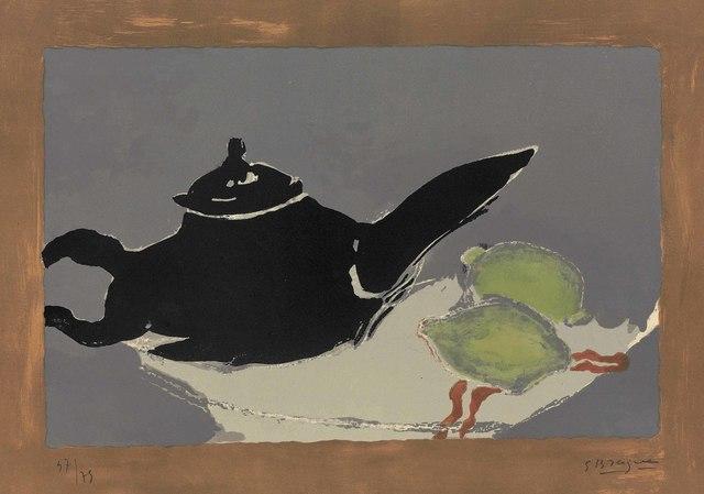 Georges Braque, 'Théière et citrons', 1949, Christie's