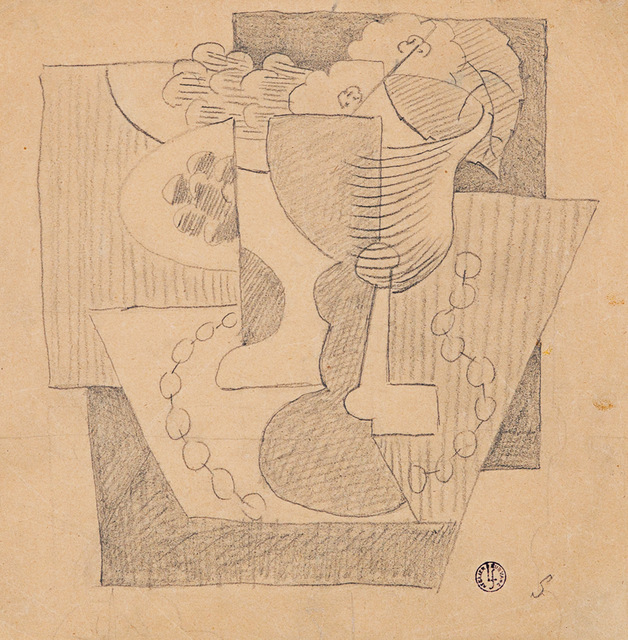 , 'Nature Morte au Compotier,' ca. 1919, Rosenberg & Co.