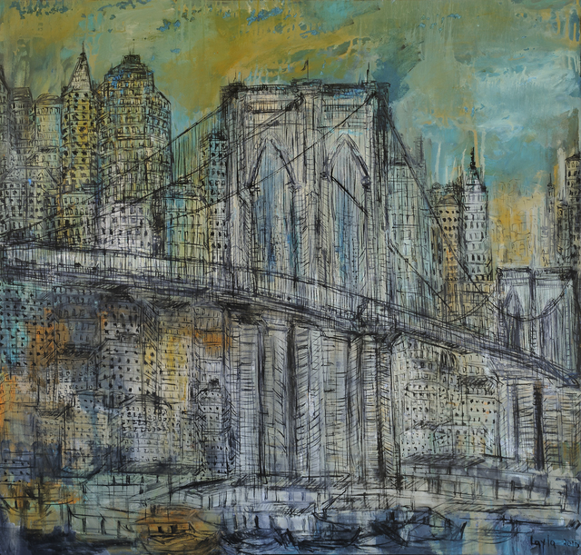 , 'Brooklyn Bridge Opus 18 ,' 2016, Walter Wickiser Gallery
