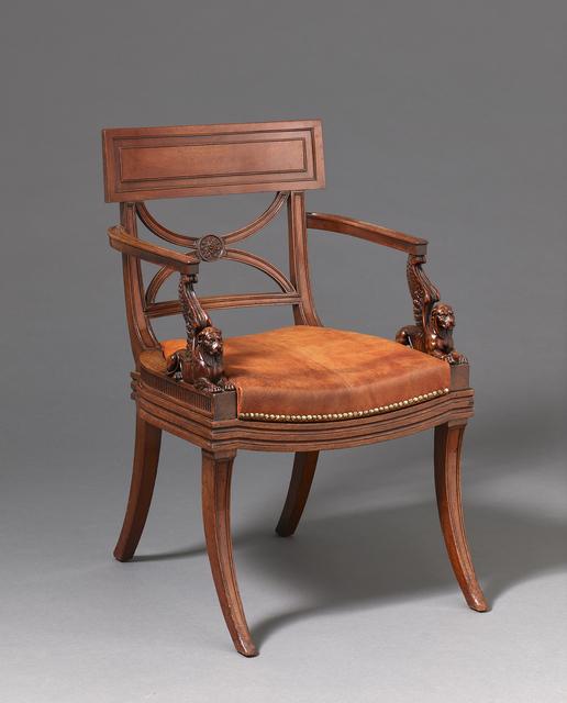 , 'Armchair,' English early nineteenth century, H. Blairman & Sons Ltd