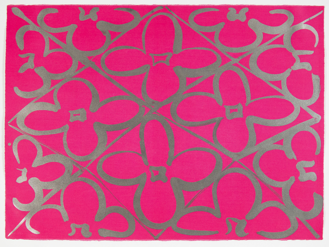 , 'Chromatic Patterns After the Graham Foundation - Pink,' 2014, Manneken Press