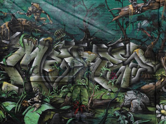 , 'Hiding in New York No. 10 - 5 Pointz,' 2013, RGR+ART