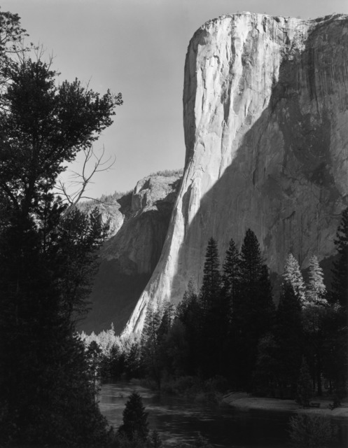 , 'El Capitan, Sunrise, Yosemite National Park,' 1956, The Ansel Adams Gallery