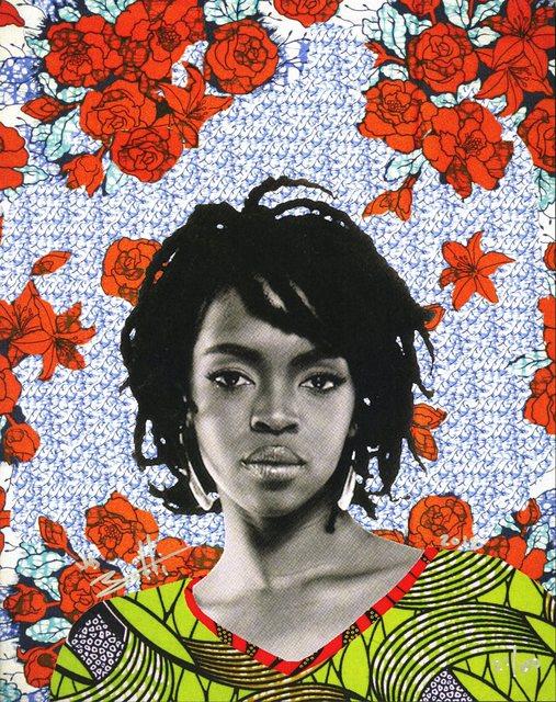 , 'Lauryn Hill,' 2018, InLiquid