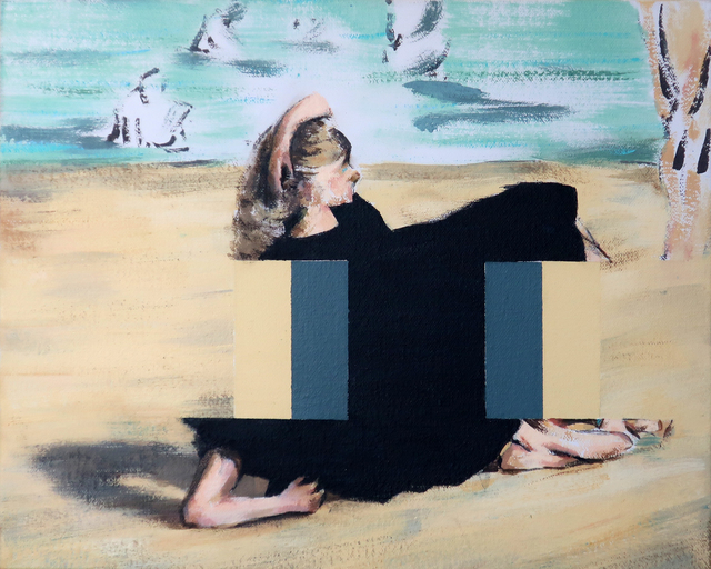 , 'On the Beach [After Edouard Manet],' 2019, Dellasposa
