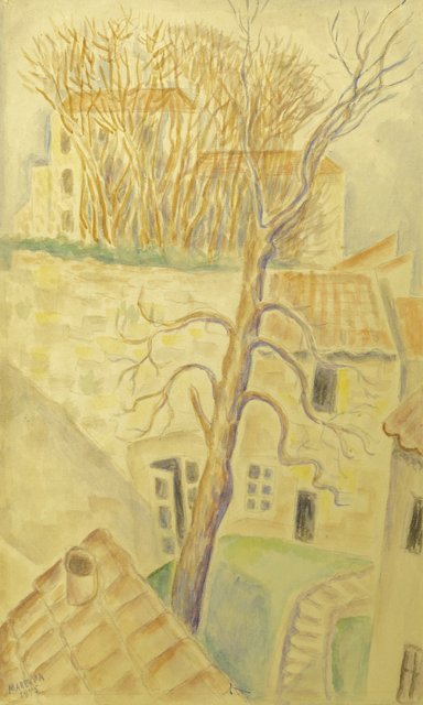 Marie Vorobieff Marevna, 'Village in the South of France', 1945, Roseberys