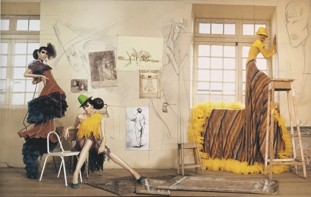 , 'Haute Color Yellow Dress,' 2009, The Art Design Project