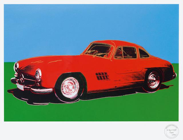 Andy Warhol, 'Mercedes 300 SL Gullwing', 2007, Kunzt Gallery