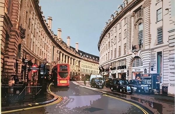 , 'Regent Street II, London,' 2020, TAG Fine Arts