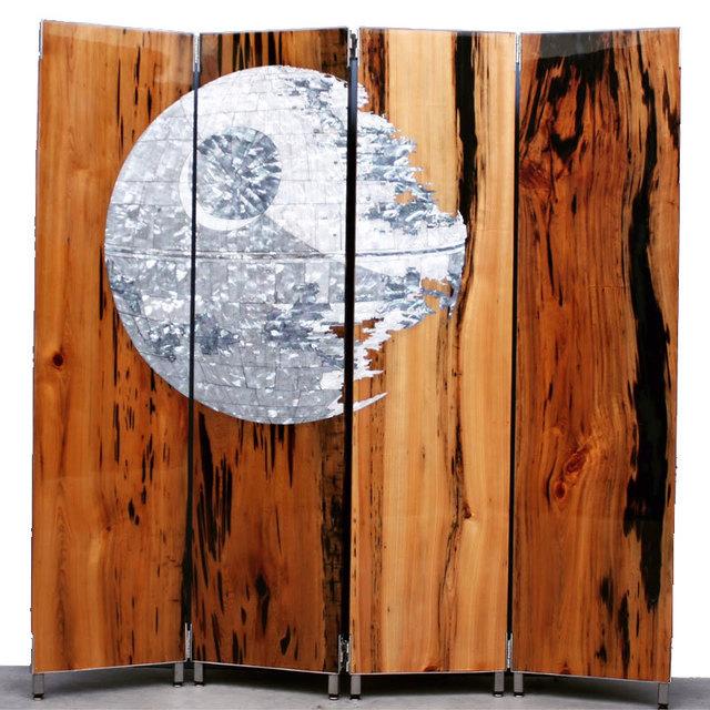Ted Lincoln, 'Death Star - Shoji Screen', 2015, Black Book Gallery