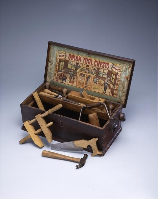 'Child's tool chest', 1900-1924, Cooper Hewitt, Smithsonian Design Museum