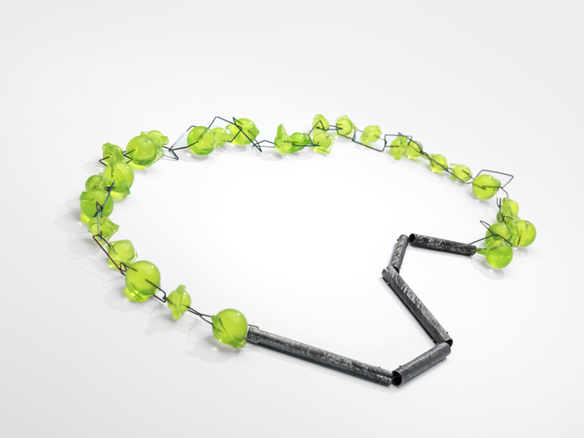, 'Green Balls, Necklace,' 2013, Gallery Loupe