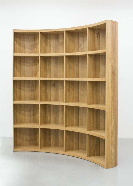 , 'Freestanding Bookshelf,' 2017, Friedman Benda