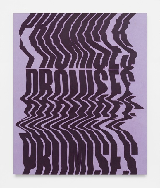, 'Promises, Promises (Lavender and Grape Study),' 2018, Gavlak