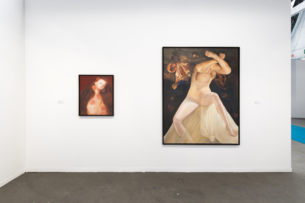 Solo Show Oda Jaune - Galerie Daniel Templon Paris-Bruxelles (c) Isabelle Arthuis