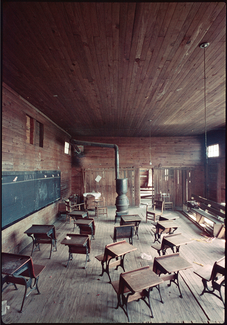 , 'Black Classroom, Shady Grove, Alabama,' 1956, Rhona Hoffman Gallery