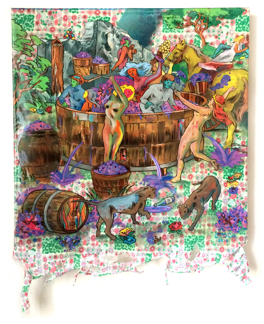 , 'The Grape Stompers,' 2018, Gallery Victor Armendariz