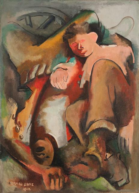, 'Conflict,' 1942, Michael Rosenfeld Gallery