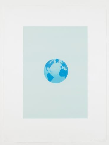 Ed Ruscha, 'The World and Its Surroundings (from The Global Edition series)', 1982, DANE FINE ART
